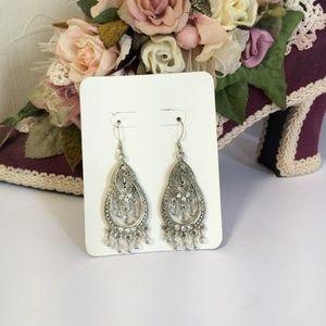 Elegant Vintage Chandelier Earrings